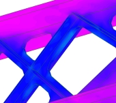 Thermal simulations for temperature profile, heat flux, thermal stress using FEA